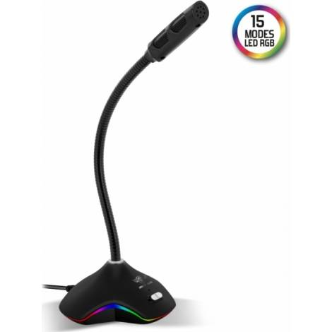 Spirit of Gamer Microphone for Gaming and Streaming RgB Eko300 (MIC-EKO300)