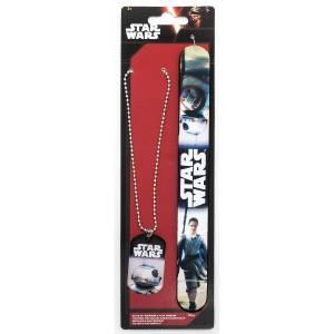 Star Wars: BB-8 & Rey Slap Bracelete & Necklace