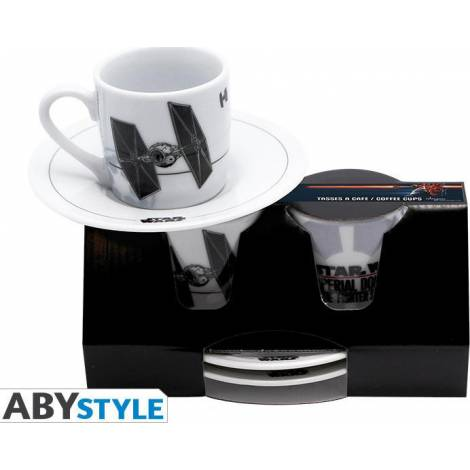 Star Wars - Imperial Domination Espresso Cups (2 pieces)  (ABYTAC002)