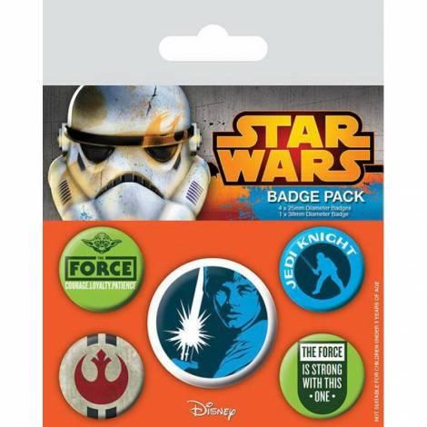 Pyramid STAR WARS - JEDI PIN BADGE PACK (5 PINS) (BP80454)