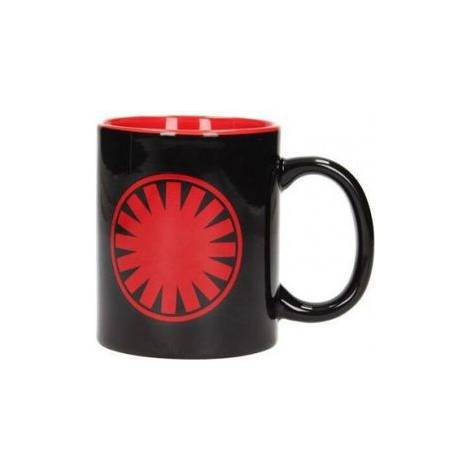 STAR WARS: THE FORCE AWAKENS - FIRST ORDER SYMBOL BLACK-RED CERAMIC MUG (SDTSDT89986)