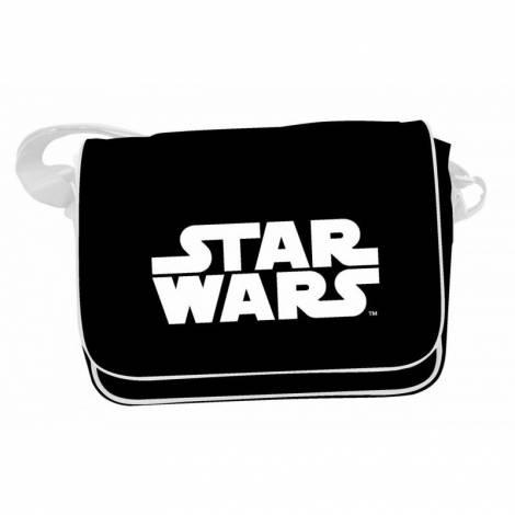 STAR WARS: WHITE LOGO MESSENGER BAG (SDTSDT89523)