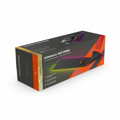SteelSeries Mousepad QCK prism Cloth XL