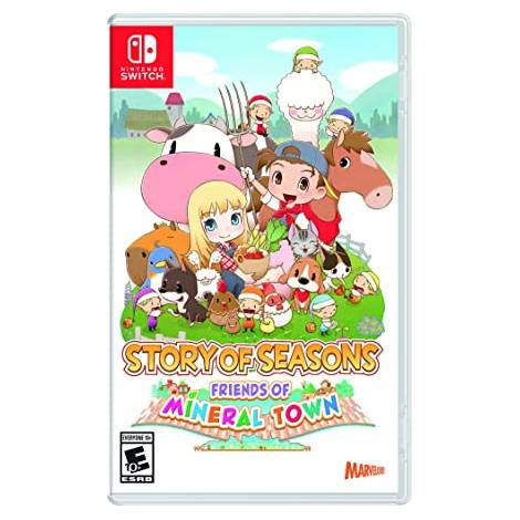 Story Of Seasons : Friends Of Mineral Town (NINTENDO SWITCH)