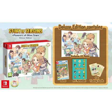 Story Of Seasons : Pioneers Of Olive Town - Deluxe Edition (NINTENDO SWITCH)
