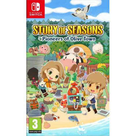 Story Of Seasons : Pioneers Of Olive Town (NINTENDO SWITCH)