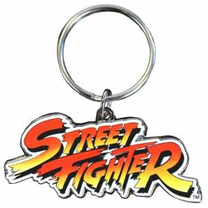 Street Fighter Classic Key Ring