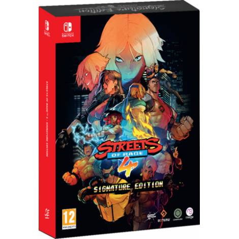 Streets Of Rage 4 - Signature Edition (Nintendo Switch)