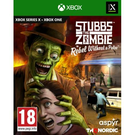 Stubbs the Zombie in Rebel Without a Pulse (Xbox One/Series X)