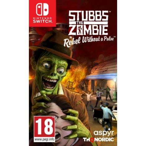 Stubbs the Zombie in Rebel Without a Pulse (Nintendo Switch)