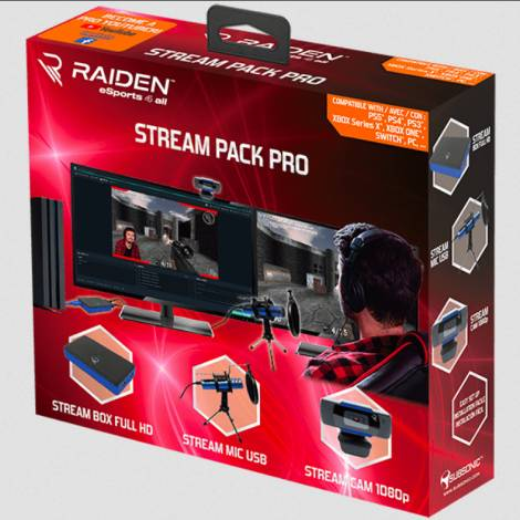 Subsonic Multi – Pro Gaming Stream Pack Pro