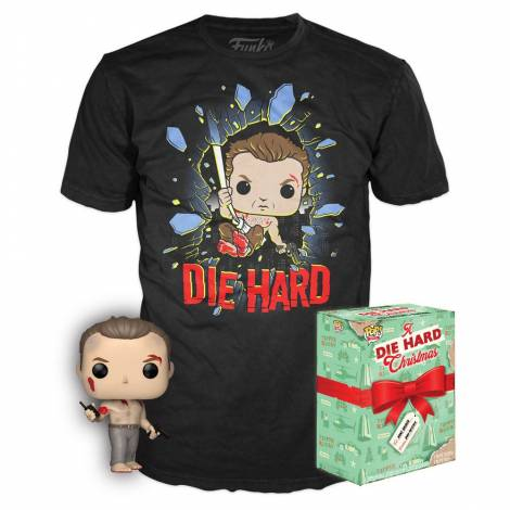 Συλλεκτικό Funko Box: Die Hard - John McClane Funko POP! with T-Shirt (S)