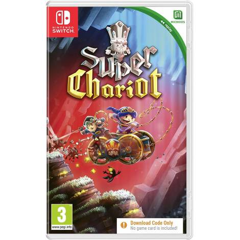 Super Chariot  Replay (Code in a Box) (Nintendo Switch)