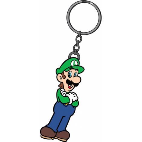 Super Mario - Luigi Rubber Keychain (KE152507TN)
