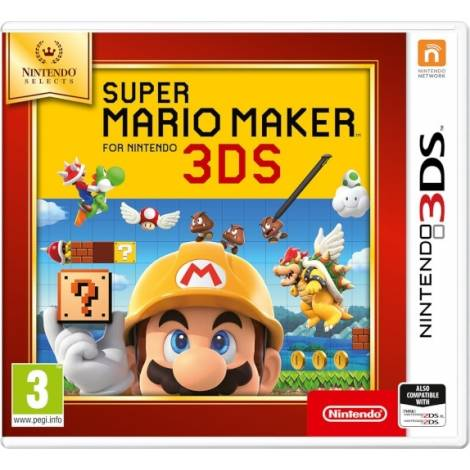 Super Mario Maker (Nintendo Selects) (Nintendo 3DS)