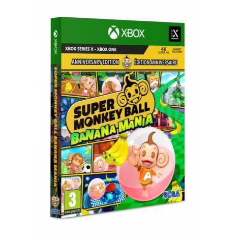 Super Monkey Ball: Banana Mania (Launch / Anniversary Edition) (με pre-order bonus) (Xbox One/Series X|S)