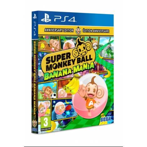 Super Monkey Ball: Banana Mania (Launch / Anniversary Edition) (με pre-order bonus) (PS4)