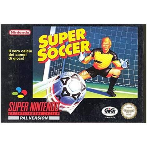 Super Soccer (Super Nintendo)