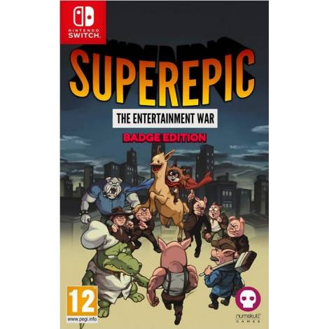 SuperEpic: The Entertainment War (Badge Collector's Edition) (Nintendo Switch)