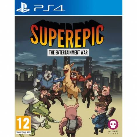 SuperEpic: The Entertainment War - Badge Edition (PS4)