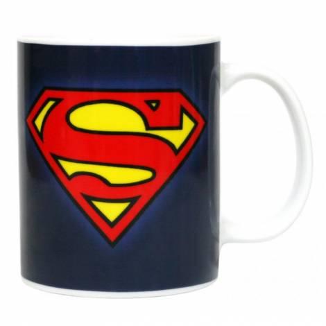 SUPERMAN DC COMICS - LOGO CERAMIC MUG (SDTWRN02991)