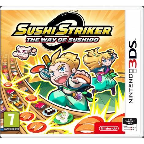 Sushi Striker The Way of Sushido  (Nintendo 3DS)