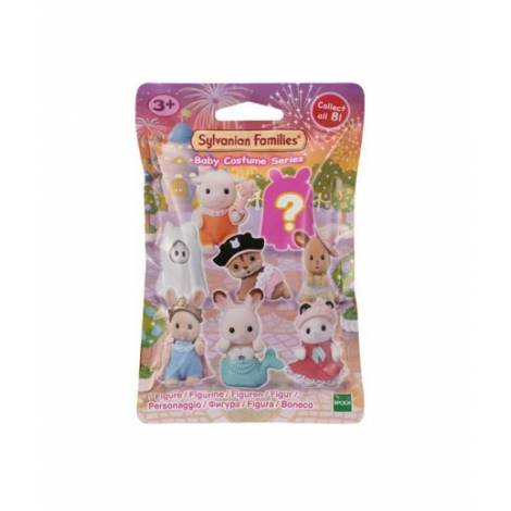 Sylvanian Families: Baby Costume Series Pack and Box (Blind Bag) (5544) Τυχαία επιλογή φιγούρας (1 τεμάχιο)