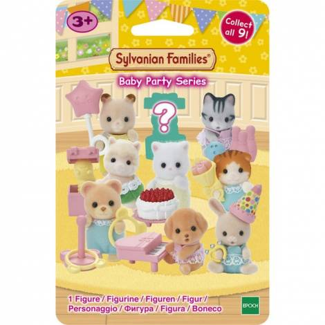 Sylvanian Families: Baby Party Series (Blind Bag) (5463) Τυχαία επιλογή φιγούρας (1 τεμάχιο)