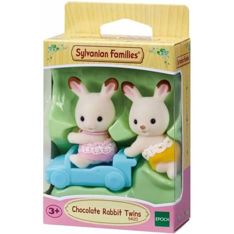 Sylvanian Families - Chocolate Rabbit Twins (5420)