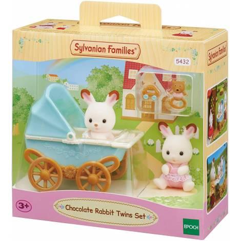 Sylvanian Families - Chocolate Rabbit Twins Set (5432)  *NEW*