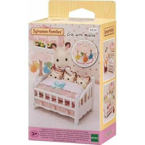 Sylvanian Families: Crib With Mobile (5534)