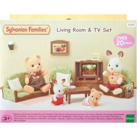 Sylvanian Families - Living Room & TV Set (5287)