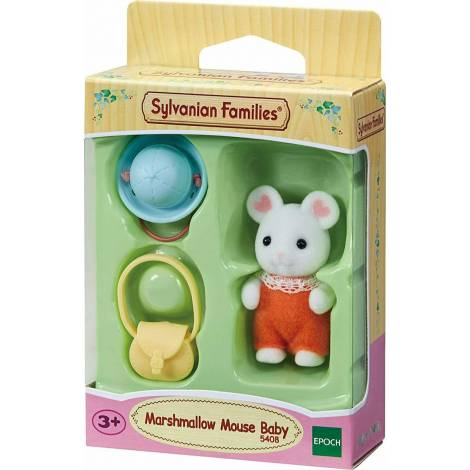 Sylvanian Families: Marshmallow Mouse Baby (5408)