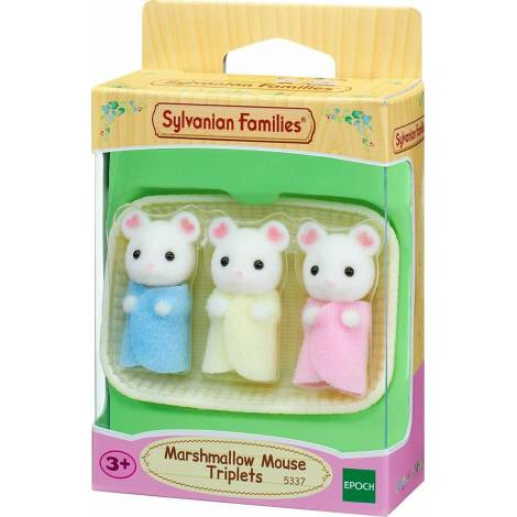 Sylvanian Families: Marshmallow Mouse Triplets (5337)