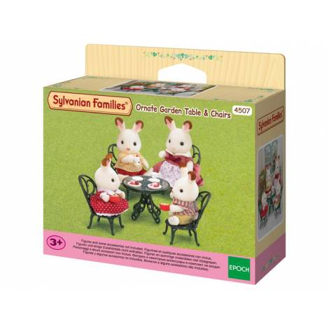 Sylvanian Families: Ornate Garden Table & Chairs (4507)