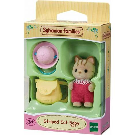 Sylvanian Families: Striped Cat Baby (5417)