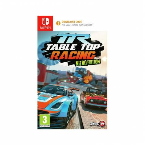 TABLE TOP RACING - NITRO EDITION - (CODE IN A BOX) (Nintendo Switch)