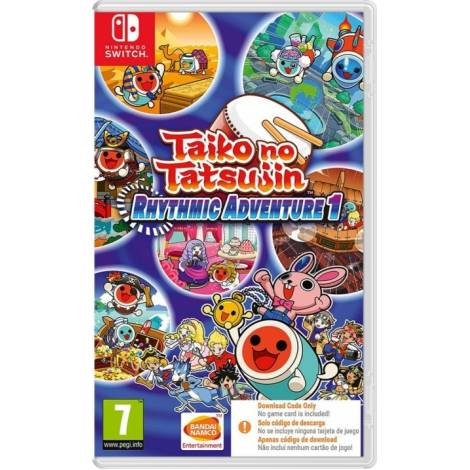 Taiko no Tatsujin: Rhythmic Adventure 1 - Code In A Box (NINTENDO SWITCH)