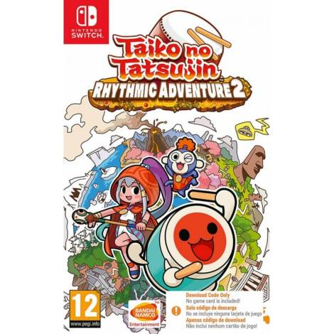 Taiko no Tatsujin: Rhythmic Adventure 2 - Code In A Box (NINTENDO SWITCH)