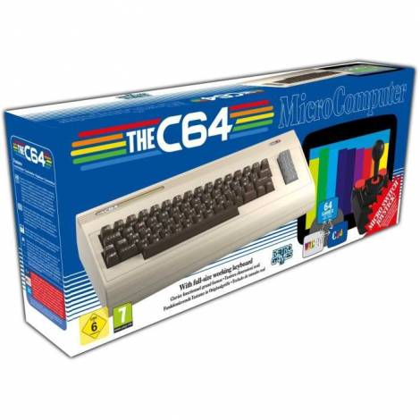 THE C64 Console With Full-Size Keyboard