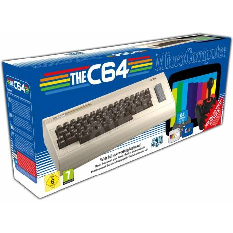 THE C64 With Full-Size Keyboard