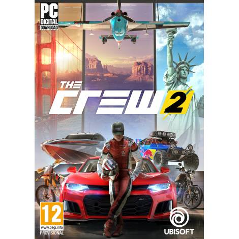 THE CREW 2 (PC) (CD Key Only - ΚΩΔΙΚΟΣ ΜΟΝΟ )