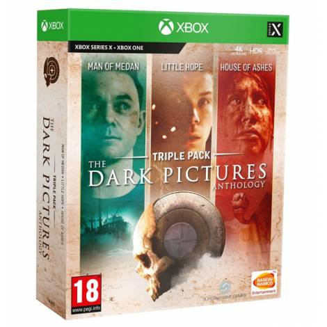 The Dark Pictures Compilation 1+2+3 Ltd (Xbox One/Series X)