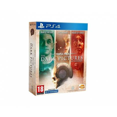 The Dark Picture Compilation 1+2+3 Ltd PS4