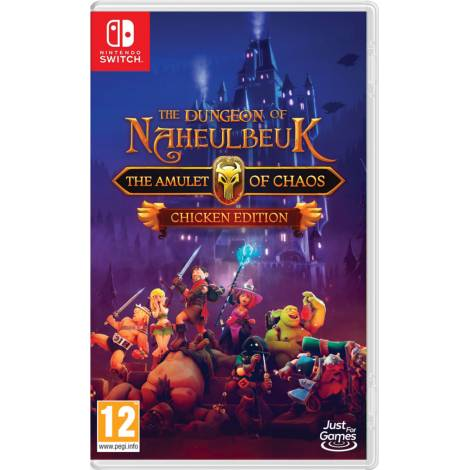 The Dungeon Of Naheulbeuk: The Amulet Of Chaos - Chicken Edition (Nintendo Switch)