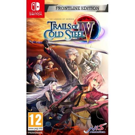 The Legend of Heroes: Trails of Cold Steel IV - Frontline Edition (Nintendo Switch)