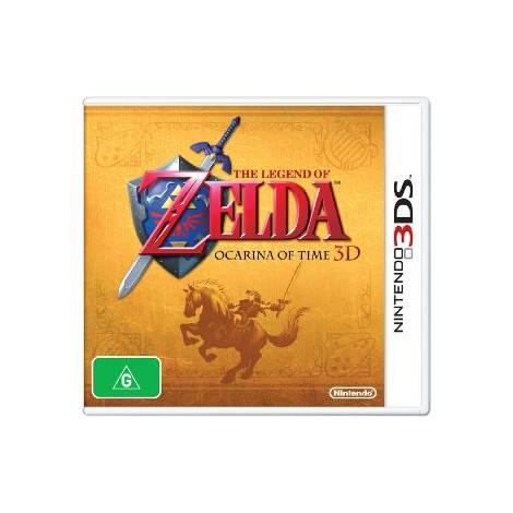 The Legend Of Zelda - Ocarina Of Time - Golden Box (Box Only) (NINTENDO 3DS)