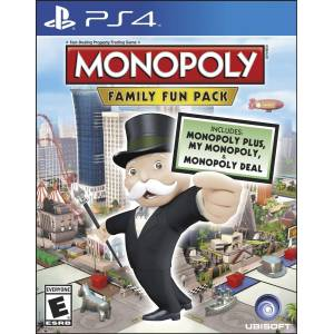 The Monopoly: Family Fun Pack (PS4)