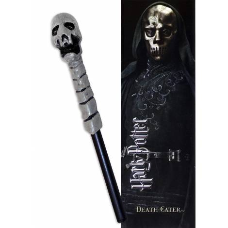 The Nobble Collection - Στυλό και σελιδοδείκτης ραβδί του Death Eater (NN7953)