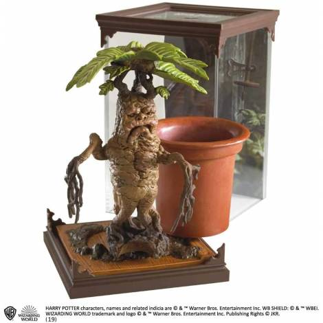 The Noble Collection - Magical Creatures Mandrake - Hand Painted Magical Creature #17 (NN7699)